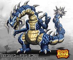Colossal Kaiju Combat - Gaidragon by KaijuSamurai on DeviantArt