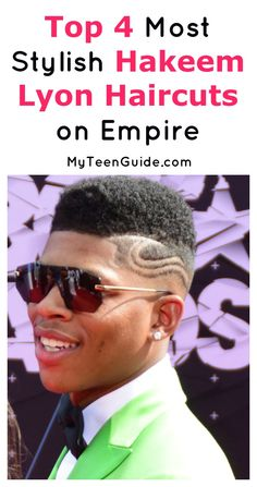 Looking for style inspiration from the Empire TV Show? Check out our picks for the four most stylish Hakeem Lyon haircuts so far!
