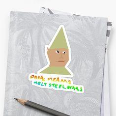 Dank Memes Melt Steel Beams - Gnome Child