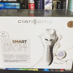 Loving our new Clarisonic Smart Profile Uplift!