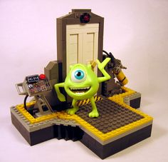 Lego Monster Inc. - Door
