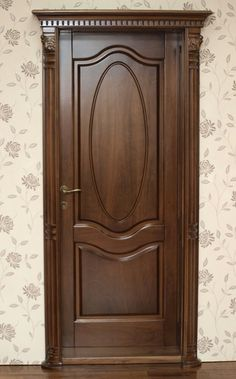 Dooor and trim for upstairs doors Wooden Doors, Wooden Main Door Design, Wooden Door Design, Wood Doors Interior, Door Design Interior, Doors Interior Modern