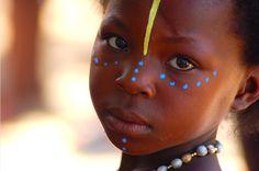 Africa | Zulu Girl photographed in Kwazulu Natal, South Africa