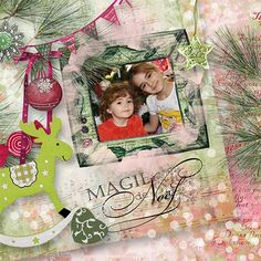 Pat's Scrap vous présente 4 packs de Noël dans un style mélangeant le Journal Art et les éléments traditionnels. Ils sont actuellement en promo à un euro. Vous les retrouverez en exclu chez Paradis...
