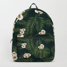 Gloomy Jungle Pattern #society6 #decor #buyart Backpacks