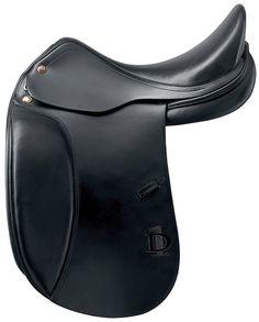 prestige d1 Italian calfskin leather saddle