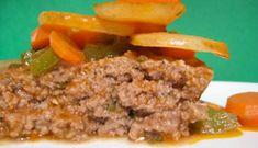 Boeuf (ou veau) haché fou Meatloaf, Fondue, Pork, Shredded Beef, I Don't Care, Kitchens, Meat Loaf