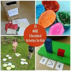 Educational kids activities