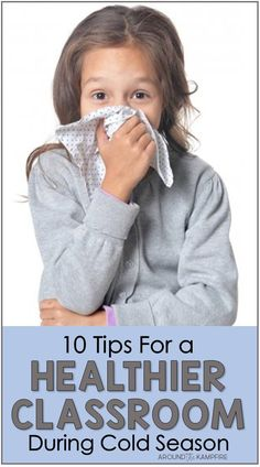 Learn ways teachers can have a healthier classroom during cold season. Find 10 tips for teachers to avoid getting sick themselves and to prevent the spread of germs among students. Teacher Blogs, New Teachers, Teacher Hacks, Kids Learning Activities, Kindergarten Activities, Fun Learning, Teaching Jobs, Student Teaching, Classroom Solutions