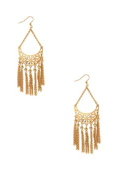 Mod Cutout Drop Earrings | FOREVER21 - 1000107740