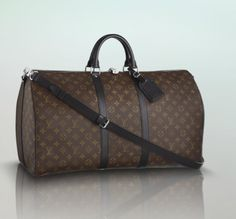 Louis Vuitton Keepall 55 (Macassar) Louis Vuitton Scarf 621b8d4a1d7e7