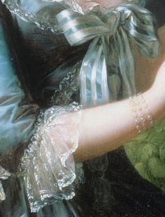 Marie Antoinette a la Rose, in detail