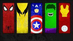 super herois marvel simbolos - Pesquisa Google