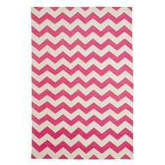 pink zig zag rugs... would be so fun in my dream office