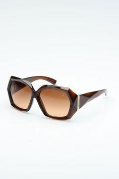 4b5135ae79 Swarovski Capri Sunglasses in Brown - Beyond the Rack Roberto Cavalli,  Capri, Valentino,