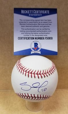 5b3ff00a PABLO SANDOVAL SAN FRANCISCO GIANTS SIGNED M.L. BASEBALL BECKETT F50831  #sfgiants #baseball #autograph #signed. All Star ...