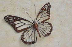 Sommerfulg af Ironweed - 60 cm x 45 cm