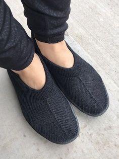 df1164e2ca ARCOPEDICO Sec Black Stretch Knit Ballet Flats Shoes Sz 36 Portugal
