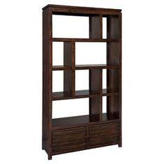 Modern bookcase.
