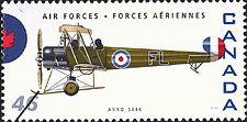 Canadian Postal Archives Database    Postal Administration: Canada     Title: Avro 504K     Denomination: 46¢     Date of Issue: 4 September 1999