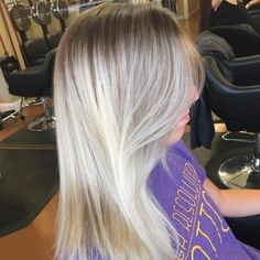 Beautiful Blonde By Mary Beth #blonde #modernsalon #americansalon #beautylaunchpad #behindthechair #salontoday #love #lorealpro #lorealprous #lorealprofessionnel #xpressionssalonspaboutique