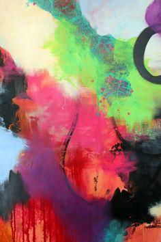Udsnit af maleri (detalje foto)