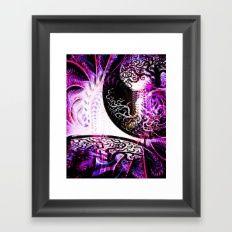 Opposition - Purple - ILL Design - Roth Gagliano Framed Art Print (scheduled via http://www.tailwindapp.com?utm_source=pinterest&utm_medium=twpin&utm_content=post119063459&utm_campaign=scheduler_attribution)