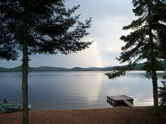 Barry's Bay, ON -- rainbow on Carson Lake. The Places Youll Go, Places Ive Been, Travel Videos, Ontario, Vacations, Past, Scenery, Wildlife, Paisajes