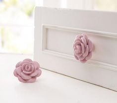 Pretty in Pink Nursery Decor (parenting.com) - such cute ideas. I love the rose accents