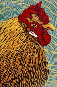 Image result for chicken woodblock