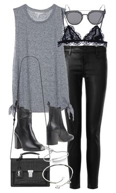 """""""Untitled #18609"""" by florencia95 ❤ liked on Polyvore featuring moda, J Brand, Victoria's Secret, Eqüitare, GANT, Isabel Marant, Yves Saint Laurent, Cartier e Monica Vinader"""
