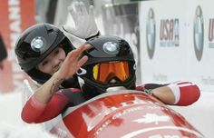 Kaillie Humphries and Heather Moyse win Gold in bobsled