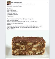 Chocolate Biscuit Fudge