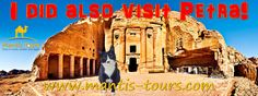 I did also visit Petra! :-) Join us also to a magical trip to the red-rose city. <3 - See more at: www.mantis-tours.com #MantisTours #TripAdvisor #PictureOfTheDay #Vacation #Travel #Tour #Tours #Trip #Trips #Israel #Eilat #Jordan #Petra #WadiRum #PetraTour