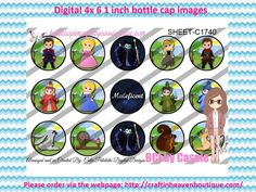 1' Bottle caps (4x6) Digital disney maleficent C1740  CARTOONS/KIDS BOTTLE CAP IMAGES #cartoons #inspired #kids #bottlecap #BCI #shrinkydinkimages #bowcenters #hairbows #bowmaking #ironon #printables #printyourself #digitaltransfer #doityourself #transfer #ribbongraphics #ribbon #shirtprint #tshirt #digitalart #diy #digital #graphicdesign please purchase via link  http://craftinheavenboutique.com/index.php?main_page=index&cPath=323_533_42_54