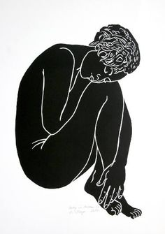 Saatchi Art: Betty in dreams - Limited Edition 2 of 10 Printmaking by A Weyer