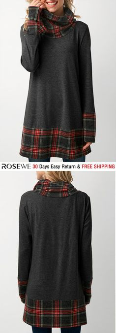 Sewing tops for women diy cowl neck 29 Ideas Sewing Dresses For Women, Trendy Dresses, Clothes For Women, New Outfits, Cool Outfits, Fashion Outfits, Women's Fashion, Winter Fashion, Sewing Clothes