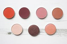 MAKEUP GEEK // NEW EYE SHADOWS (MATTES AND DUOCHROMES)