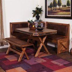 Sunny Designs Sedona Rustic Oak Dining Set 0222ro