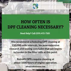 ta dpf cleaning cost