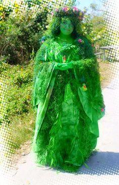DIY Te Fiti Halloween Costume Idea