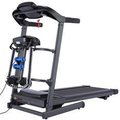 Electric Treadmill Folding Home Walking Running Machine LCD Display Weight Loss Space Saving, Small Spaces, Electric Treadmill, Running Machines, Treadmills, Walk Run, Tool Kit, Footprint, Wheels