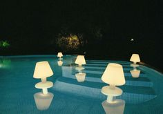 Floating Pool Lamps