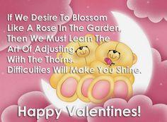Valentine Day Messages Love, Happy Valentine Images, Happy Valentines Day Sms, Images For Valentines Day, Happy Valentine Day Quotes, Messages For Her, Bear Valentines, Valentine Wishes For Boyfriend, Valentine's Day Quotes