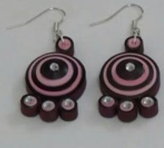 Quiling ear rings