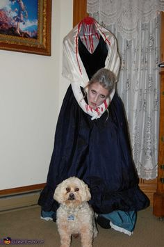Headless Marie Antoinette - DIY Halloween Costume