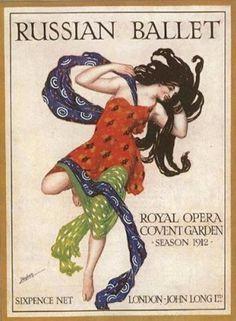 Bellat Russes Sergei Diaghilev