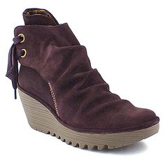 London Fly Boot - Yama in purple suede. I think I might have just become obsessed with this shoe maker.