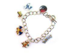 Your Favorite Pokemon Inspired Bracelet Pokemon Merchandise, Gotta Catch Them All, My Princess, Cute Jewelry, Your Favorite, Geek Stuff, Charmed, Inspired, Bracelets
