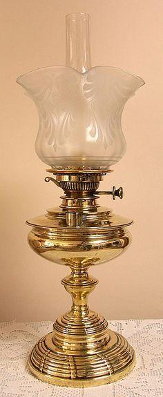 .Antik Gaz Lambası